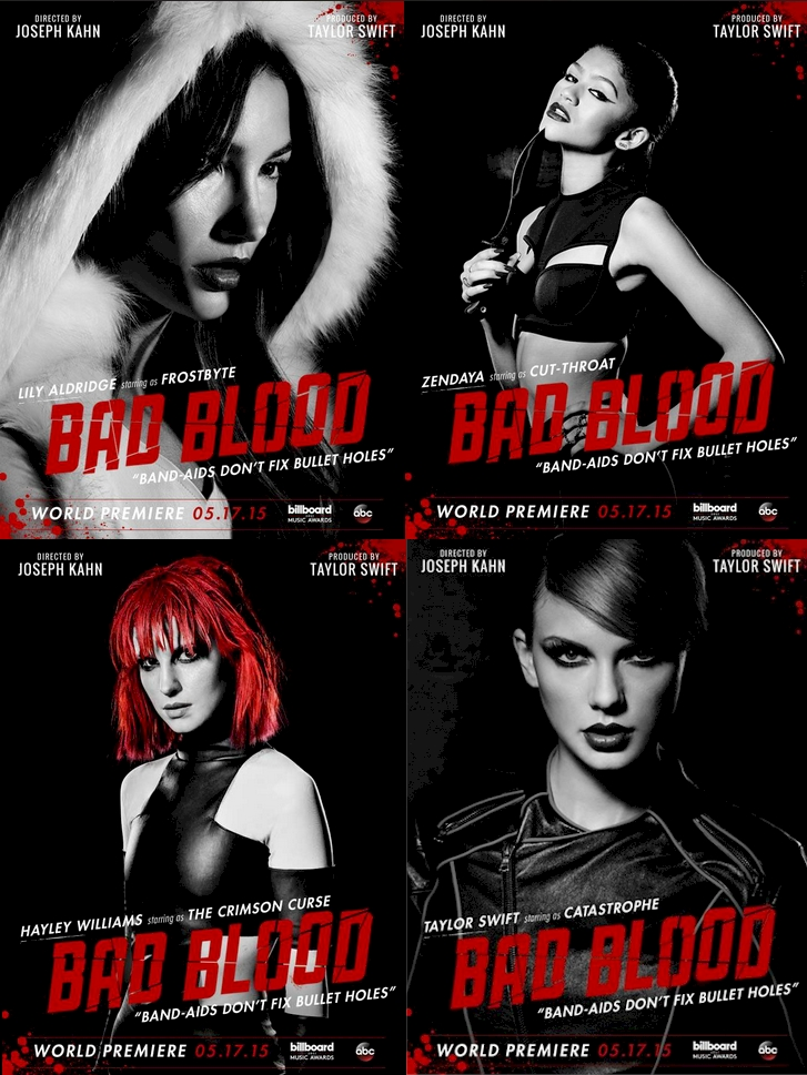Taylor Swift - Bad Blood Posters