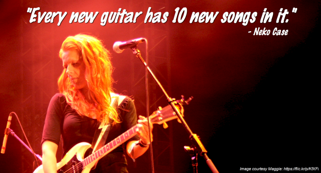 Neko Case - New Guitars Quote
